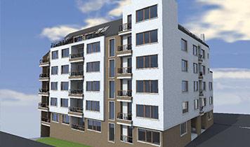 Building 5, Residence Eurocity, Petar Alipiev Str., Residential area Vazrazhdane