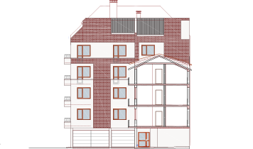 Building 6, Residence Eurocity, Ivan Ianev Str., Residential area Vazrazhdane